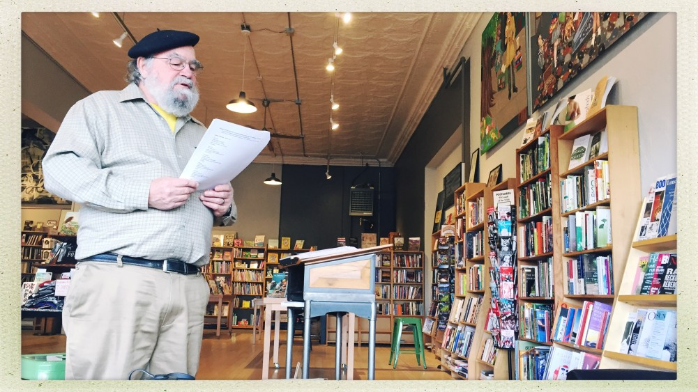 Robert Lee teaches Form Poetry at Shakespeare & Co. Bookstore in a Writer's Room Workshop