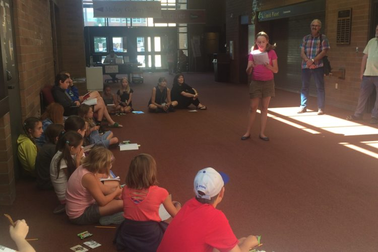 Welcome to the West by Finley, from Words with Wings Camp