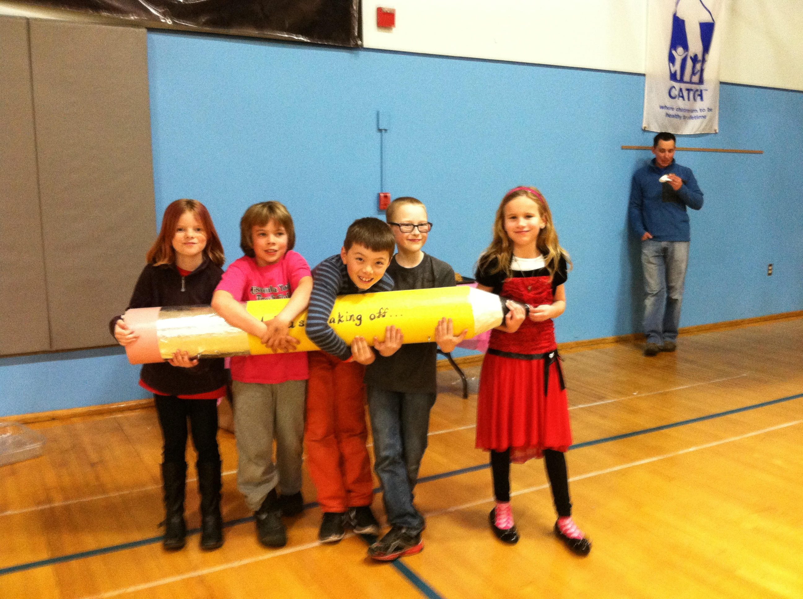 Students at C.M. Russell Elementary School in Missoula